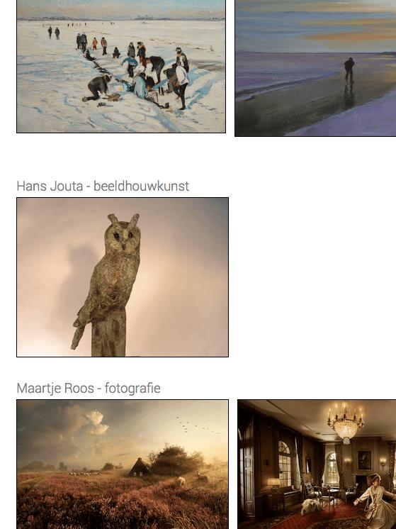 'Winterwaarmte' yn Galerie Koopmans